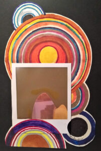 Portholes FTC: Weak 5, Mixed Media by Cathy Herndon, 10in x 12in, $145 (October 2021)