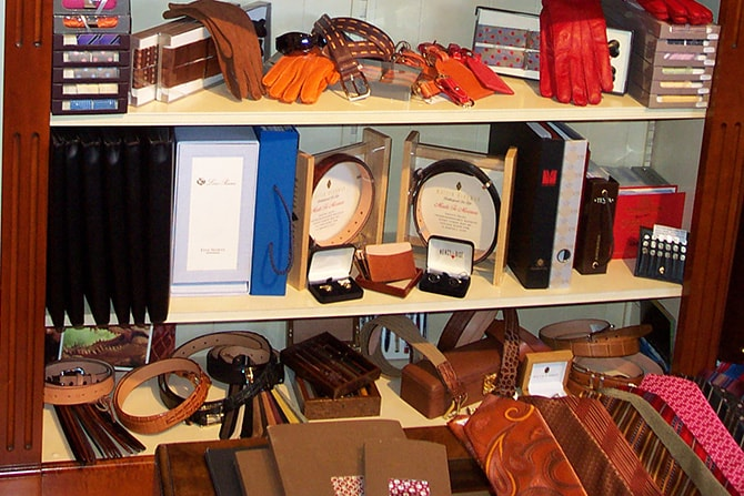 Italian Leather Belts and Braces   Executive Wardrobe by Lou Deal