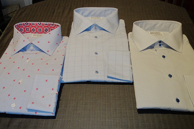Custom Italian Shirts For the Chicago Businessman   Executive Wardrobe by Lou Deal