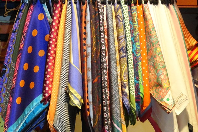 Pocket Squares and Ties | Executive Wardrobe by Lou Deal