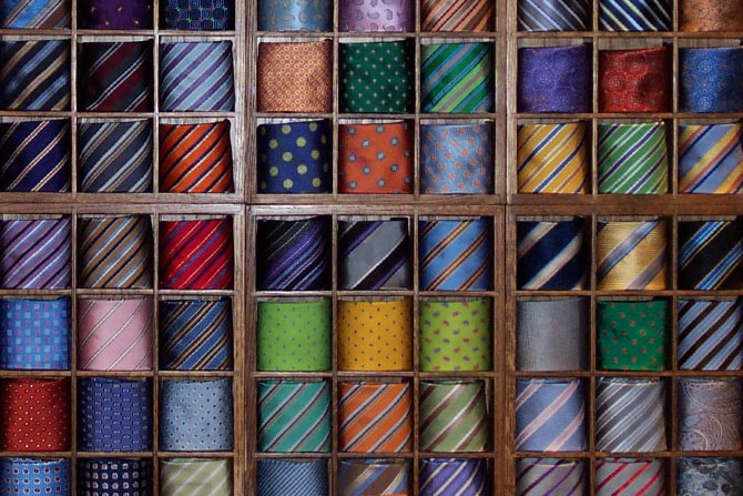 Colorful Ties | Executive Wardrobe by Lou Deal