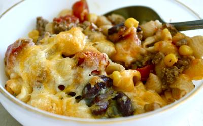 Turkey Chili Pasta