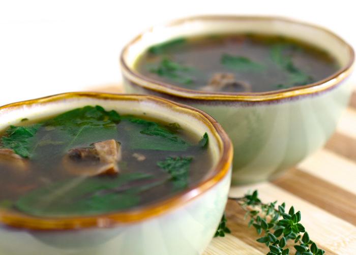 Rustic Mushroom Soup | Black Girl Chef's Whites