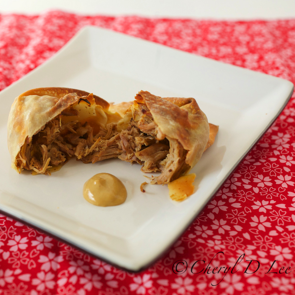 Smoky Date Pulled Pork Packets