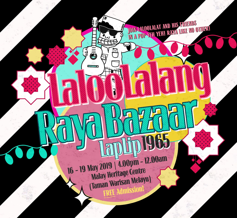 LalooLalang Raya Bazaar 2019 Poster