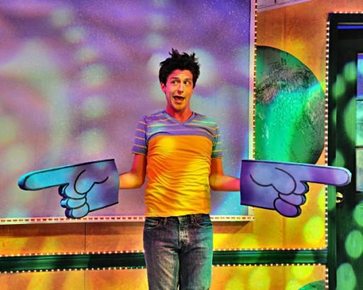 Sam Ludwig stars as Big Nate in the Adventure Theatre musical. (Bruce Douglas / courtesy of Adventure Theatre - .)