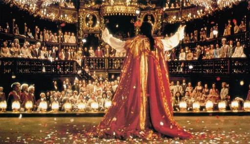 FARINELLI: IL CASTRATO, Stefano Dionisi (sul palco), 1994, © Sony Pictures Classics