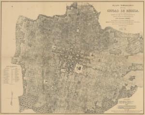 Plano Topográfico encargado durante el segundo imperio.
