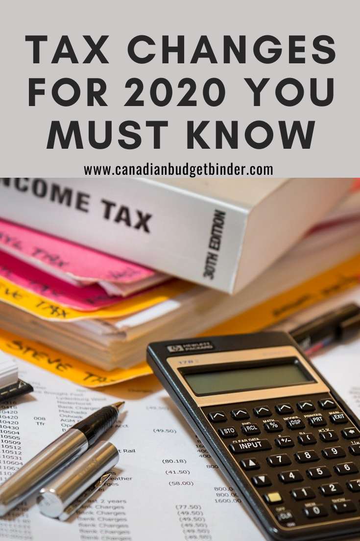 Tax Changes for 2020 Filing You Must Know