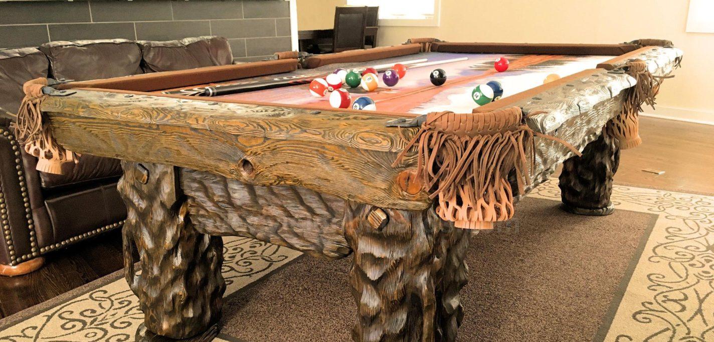 Wilderness Rustic Pool Table, Utah