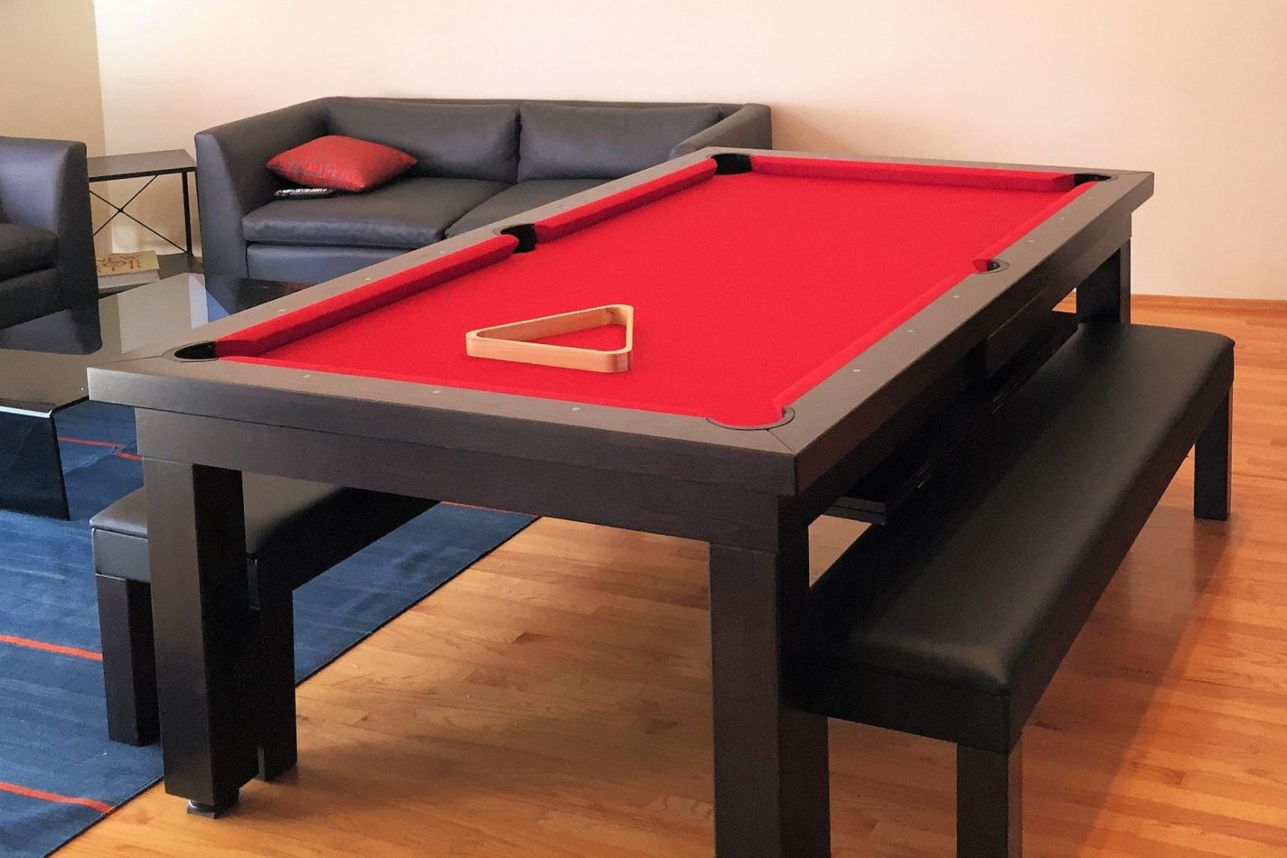 Milan Convertible Table, California