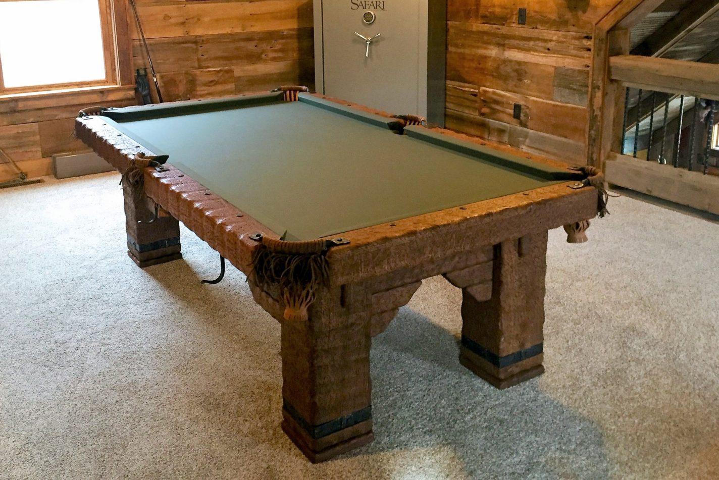 Wild West Rustic Pool Table, Illinois