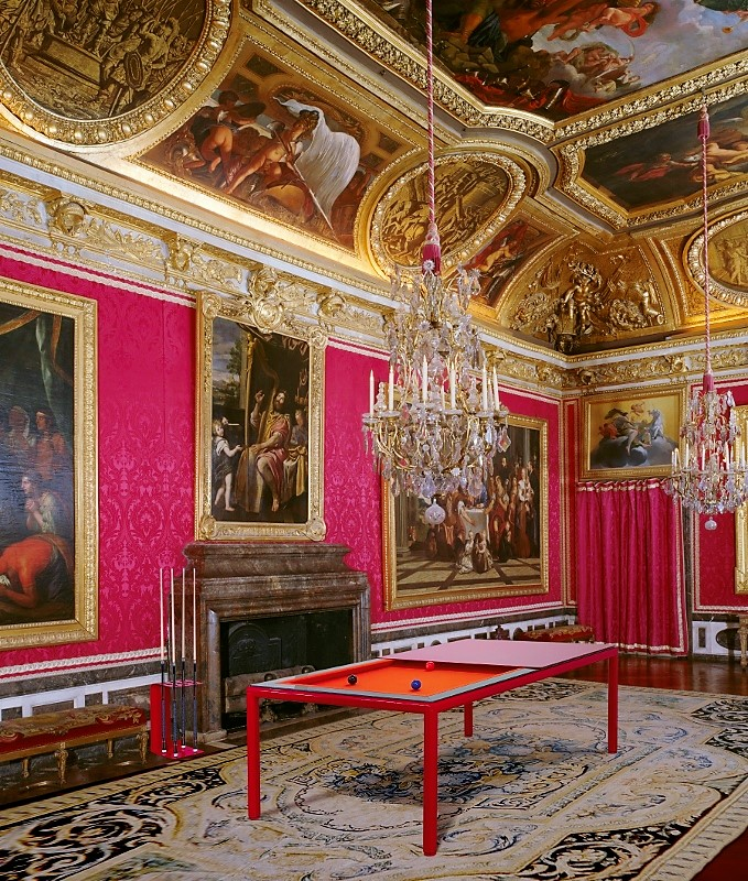 Billiard dining convertible table Pronto Ultra in Versailles by Vision Billiards