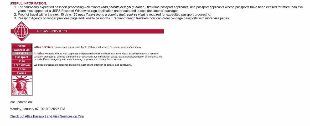 Atlas Passport & Visa Services old
