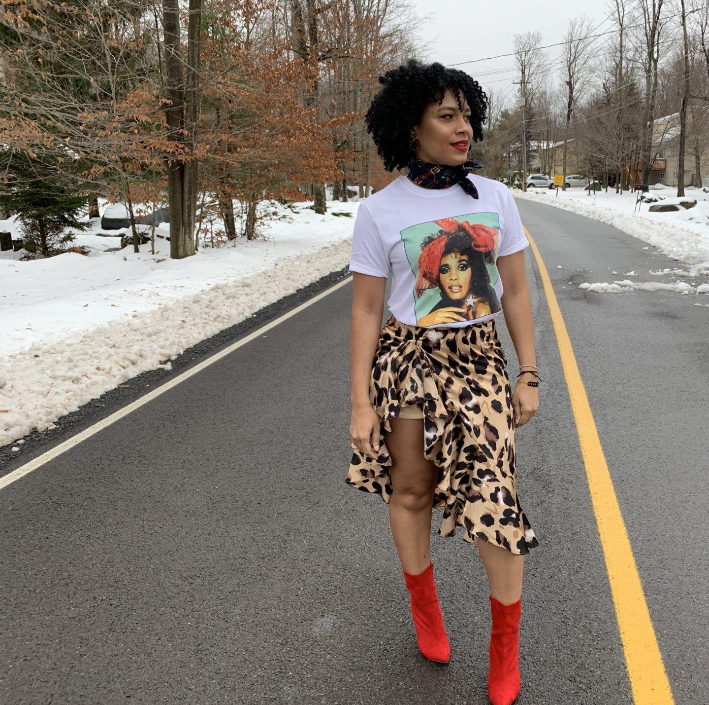 The Leopard Skirt, Three Ways