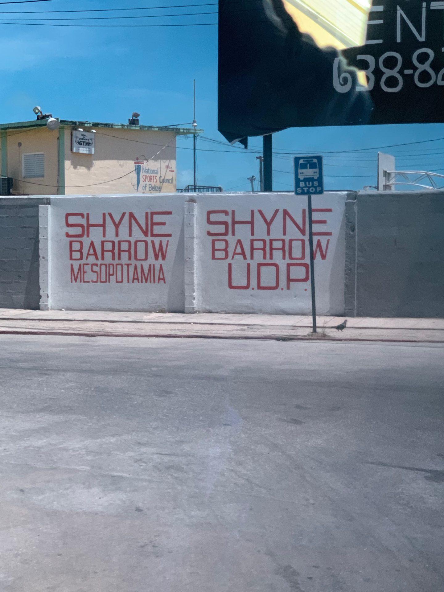 Shyne Barrow, Belize City
