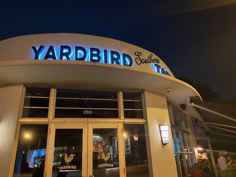 Yardbird Miami For Dinner
