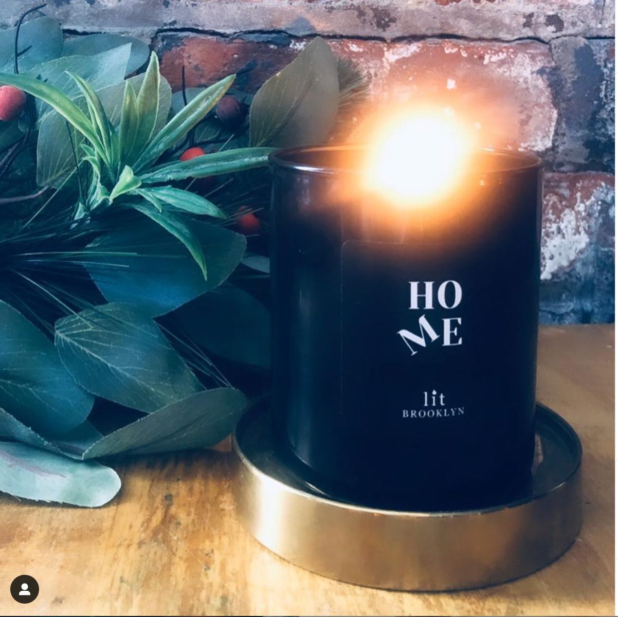 Lit Brooklyn Candles