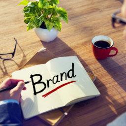 brand | picture of entrepreneur at desk