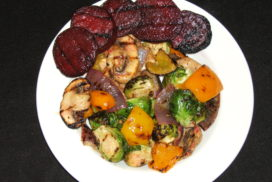 Mama Hogg's Grilled Vegetables
