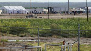 Immigrant camp