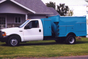 HPV-13EL Truck Mounted Powervac without dress up kit and tool boxes