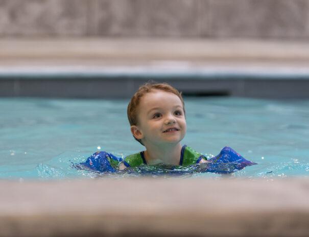 indoor pool getaway package georgian bay hotel collingwood blue mountain