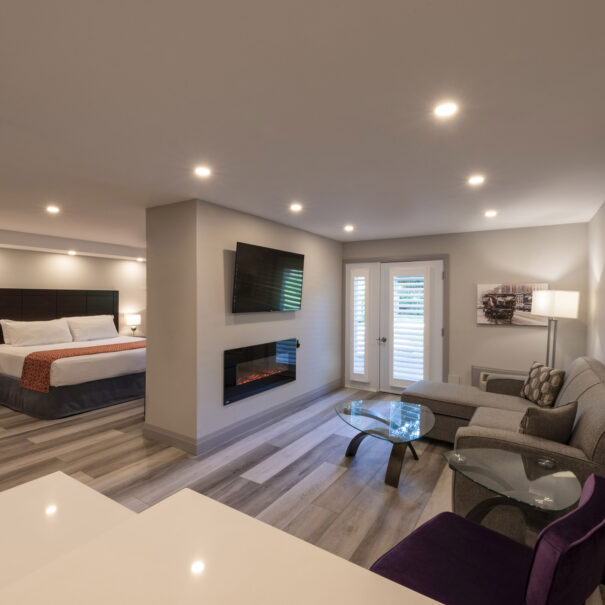 accessible suite Hotel Collingwood Blue Mountain