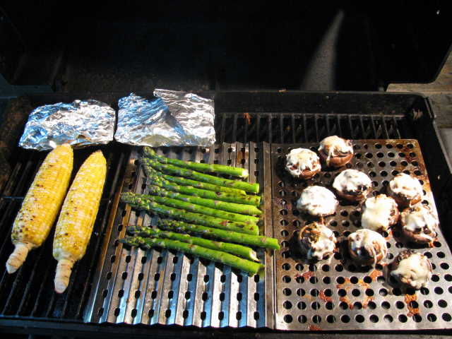 On the grill with Kiner's Diner