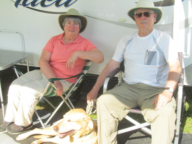 Sheila O'Reilly and Ron Alton