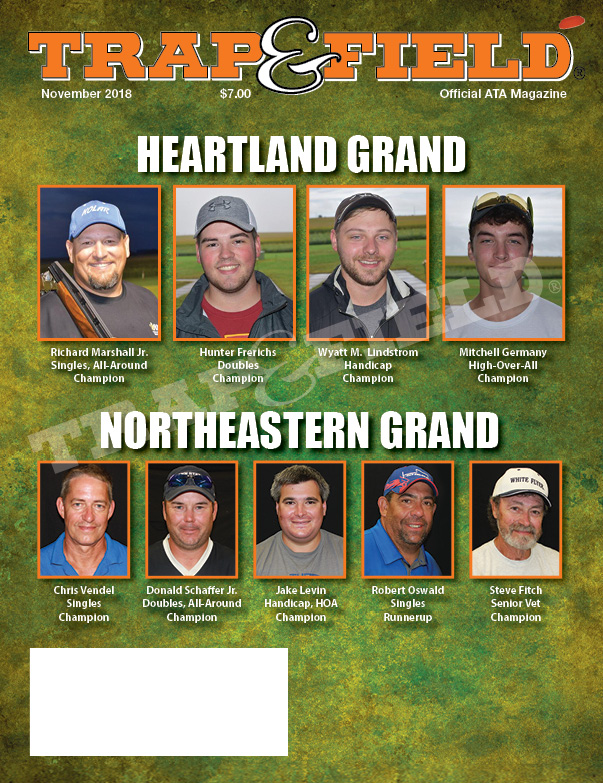 Trap and field magazine - November 2018 issue