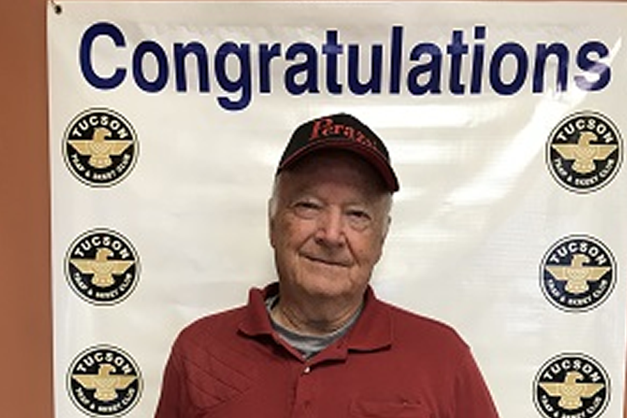 Cliff Haycock is a gentleman, who always has a smile on his face, according to ATA Western Zone Vice President Ed Wehking. It takes many to run a successful tournament, and some of the people who help make it happen at Tucson T&SC are Doug Sims, Char Prytula and Jerrie Finfrock.