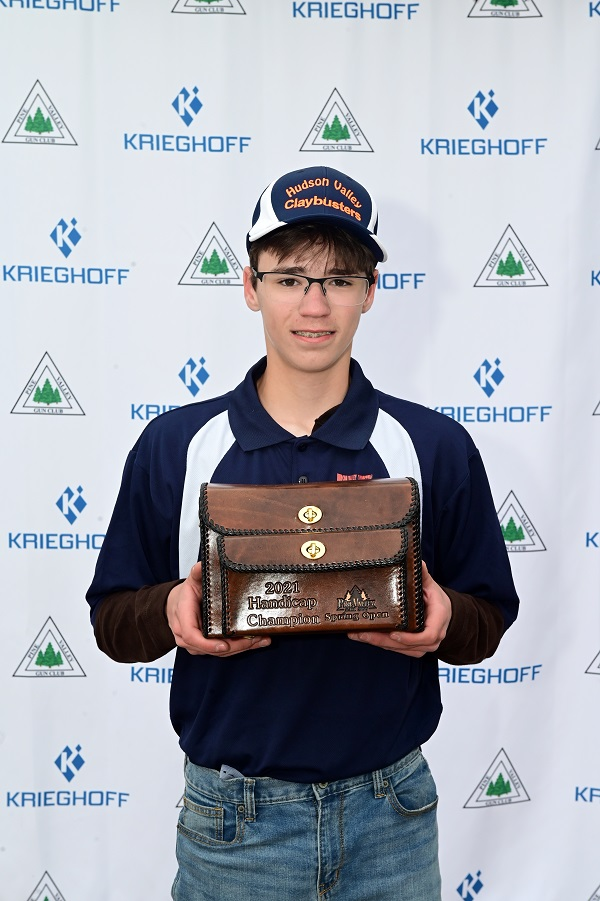 Zac Cucunato won the handicap at Pine Valley GC's annual Youth Shoot.