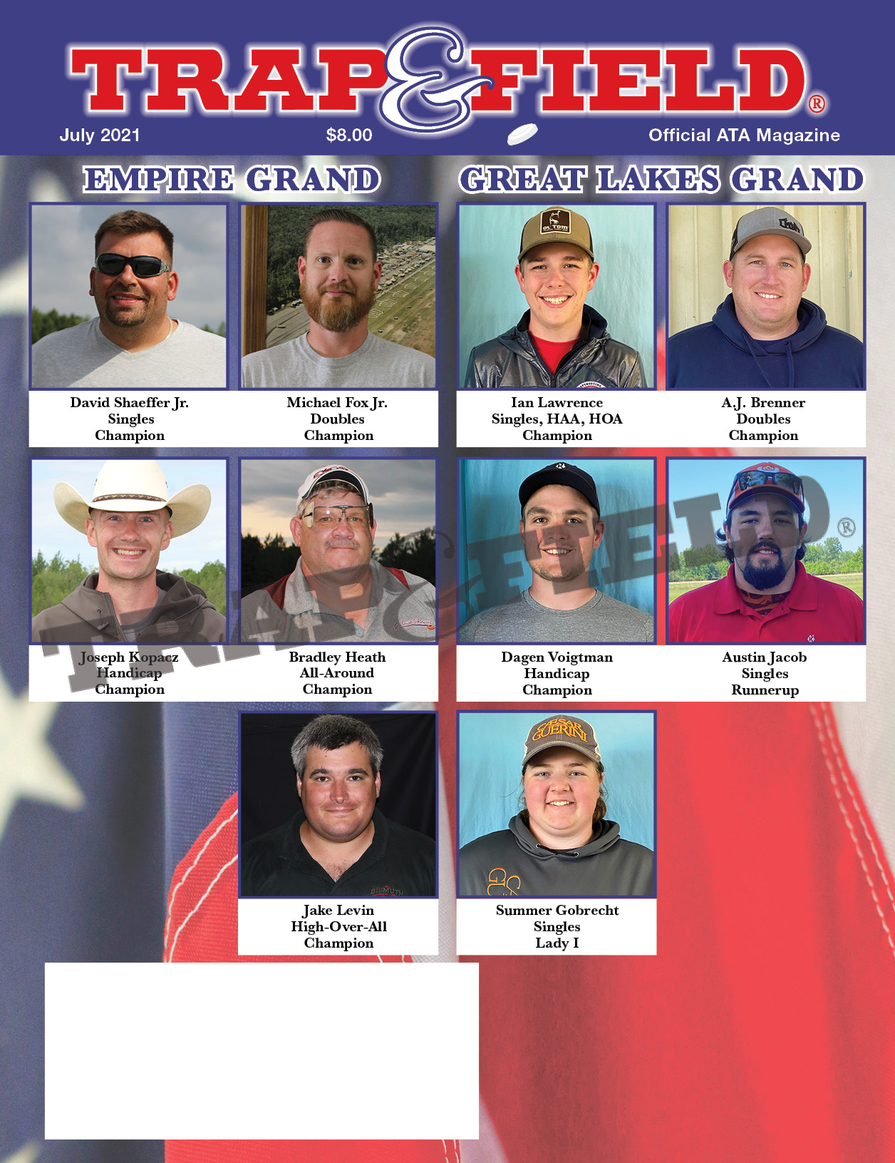 July 2021 Issue – Trap and Field Magazine