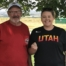 Gary Bushnell won the ATA Western Zone Handicap Championship with the lone perfect score. He received his 100 straight pin from Spanish Fork GC manager Kirsten Dumas.