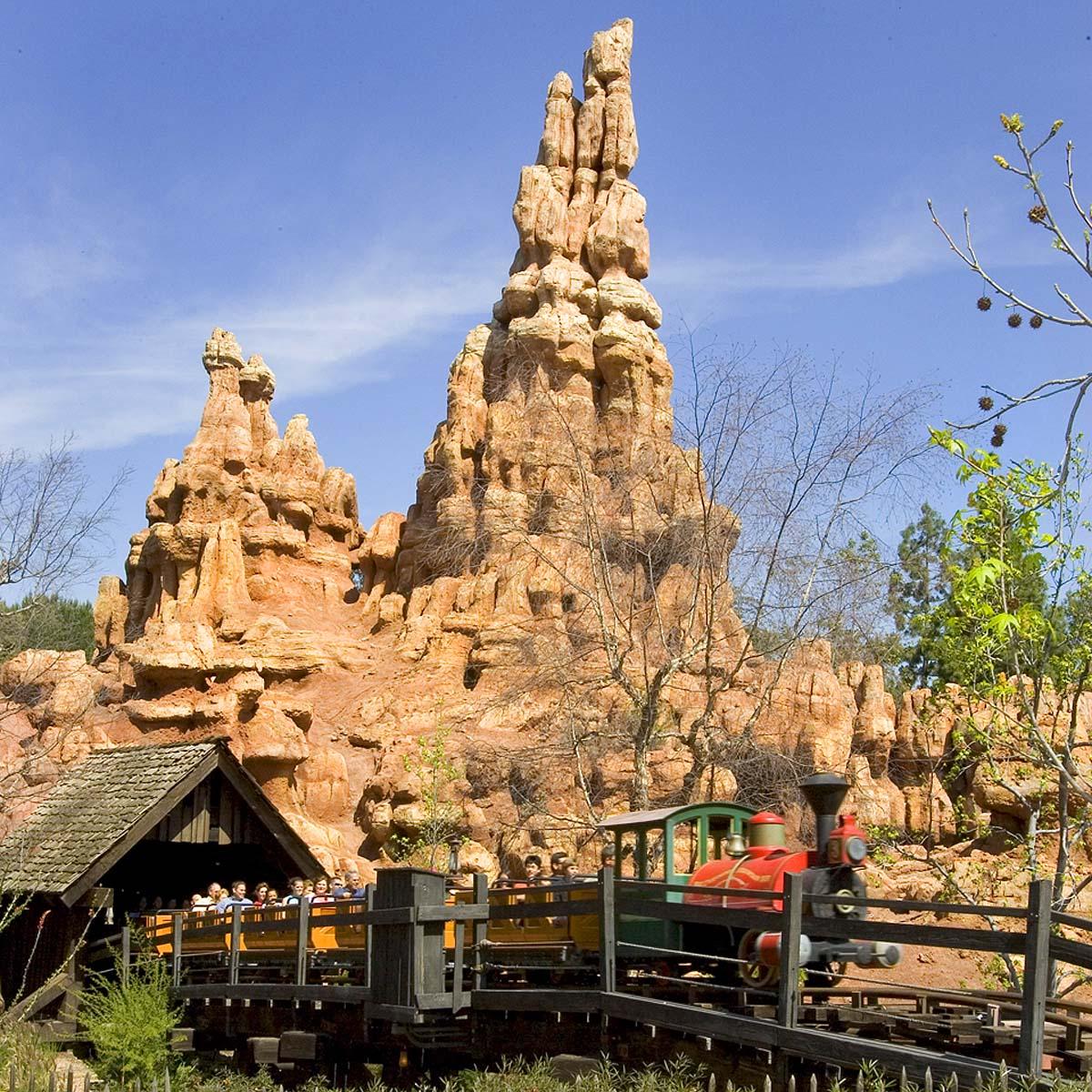 Big Thunder Mt Disneyland