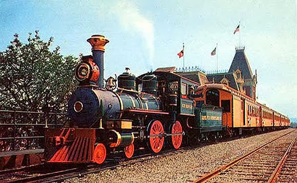 Disneyland Railroad at Main Street Station