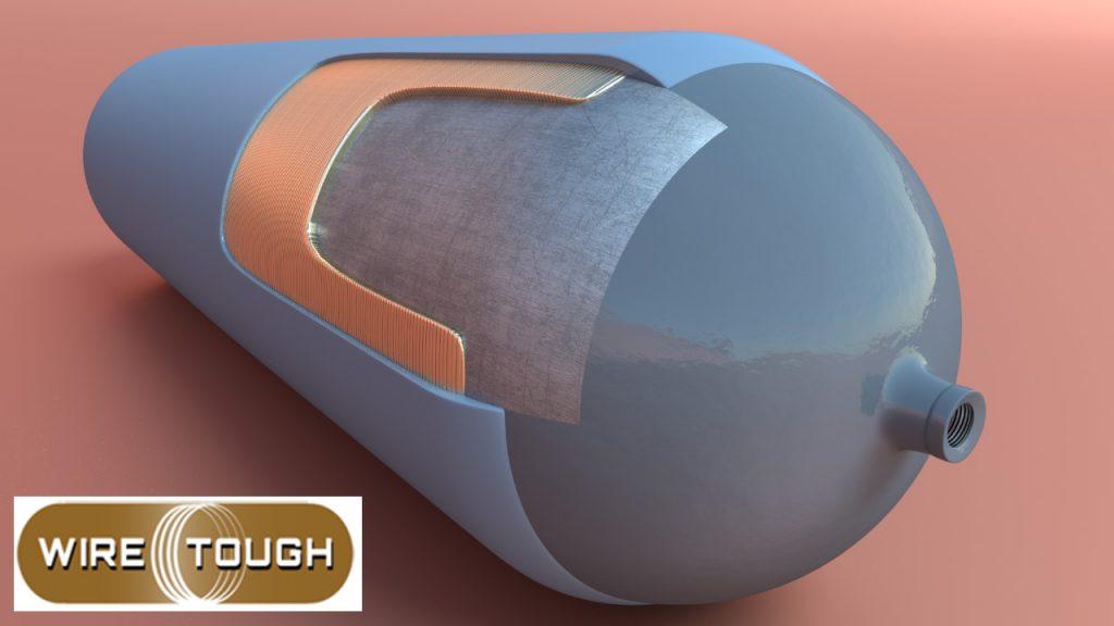 WireTough Cylinder Cutaway