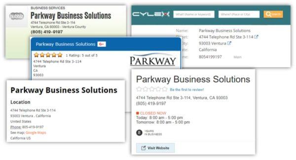 Google My Business SERP