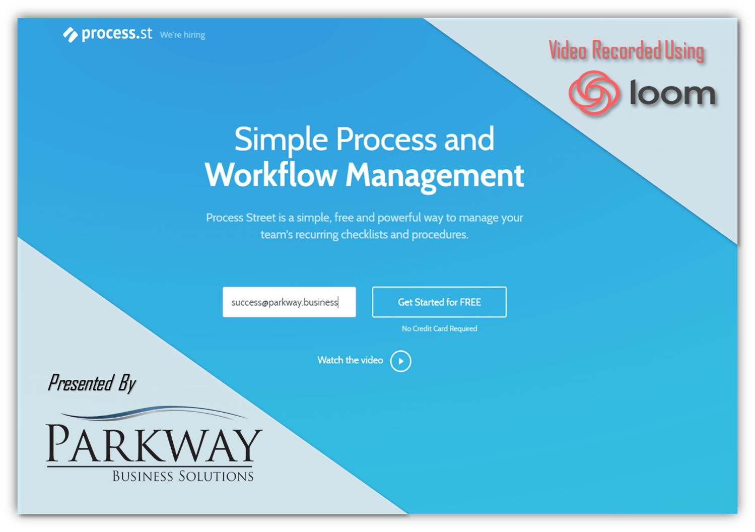 Workflow Efficiency with Process Street