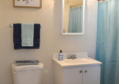 Clean and spacious bathrooms