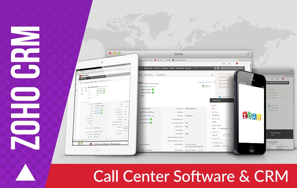 Call Center Software & CRM