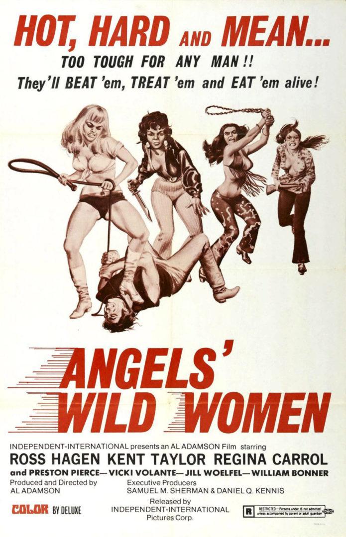 Angels'Wild Women White one sheet
