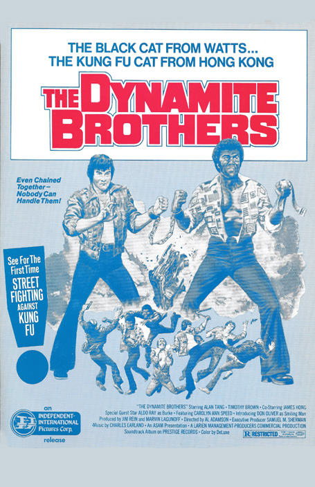 DYNAMITE BROTHERS WEB ONE SHEET