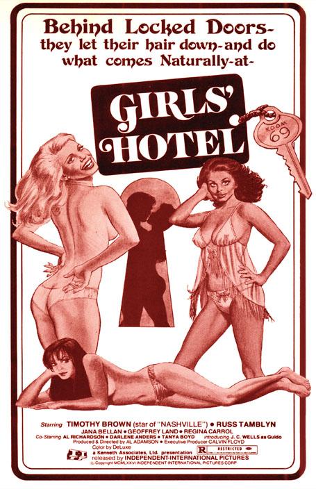 GIRLS' HOTEL POSTER