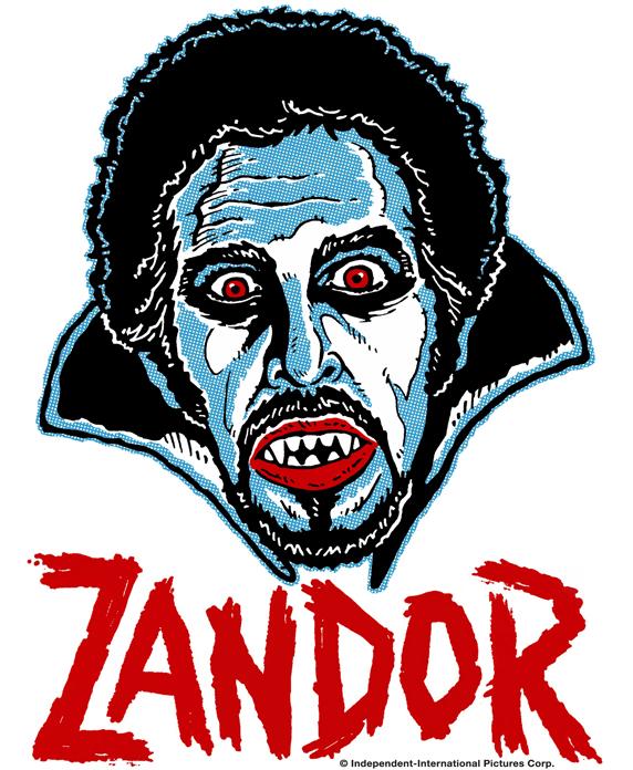 Zandor sticker & T-Shirt transfer