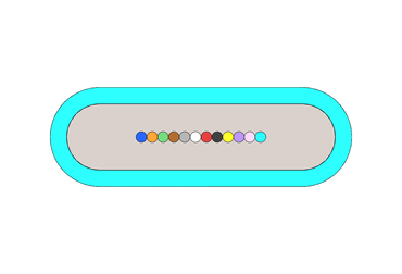 Ribbon Small PNG resized to 370 width
