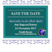 Save the Date - Asia Retreat
