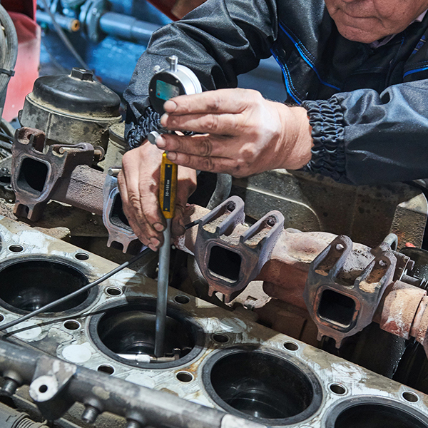 commercial truck repair diesel engines
