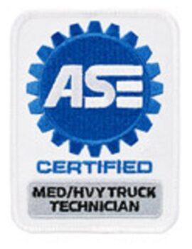 ASE medium heavy truck technician